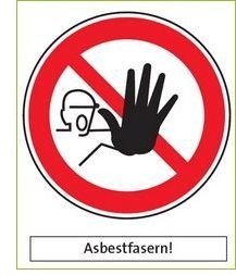 Warning: asbestos air | © CRB Analyse Service GmbH