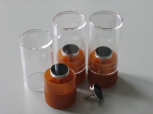 Sample holders for dust sampling asbestos | © CRB Analyse Service GmbH