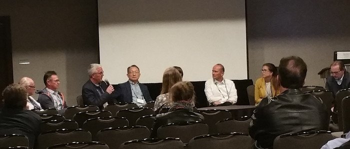Panel discussion at the IAEG/AEG Congress in San Francisco
