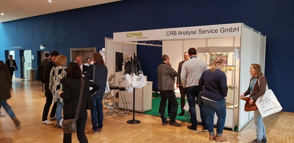 CRB booth at DCONex 2019
